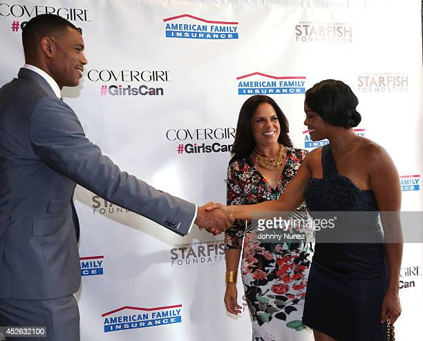 Allan HoustonSoledad O'Brien and Tatyana Ali attend Soledad O'Brien Brad Raymond Starfish Foundation 4th Annual New Orleans To New York City Gala at...