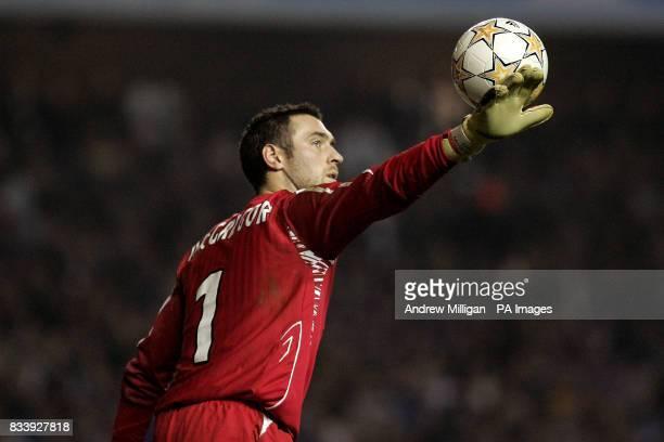 Allan McGregor Rangers goalkeeper