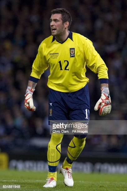 Allan McGregor Scotland
