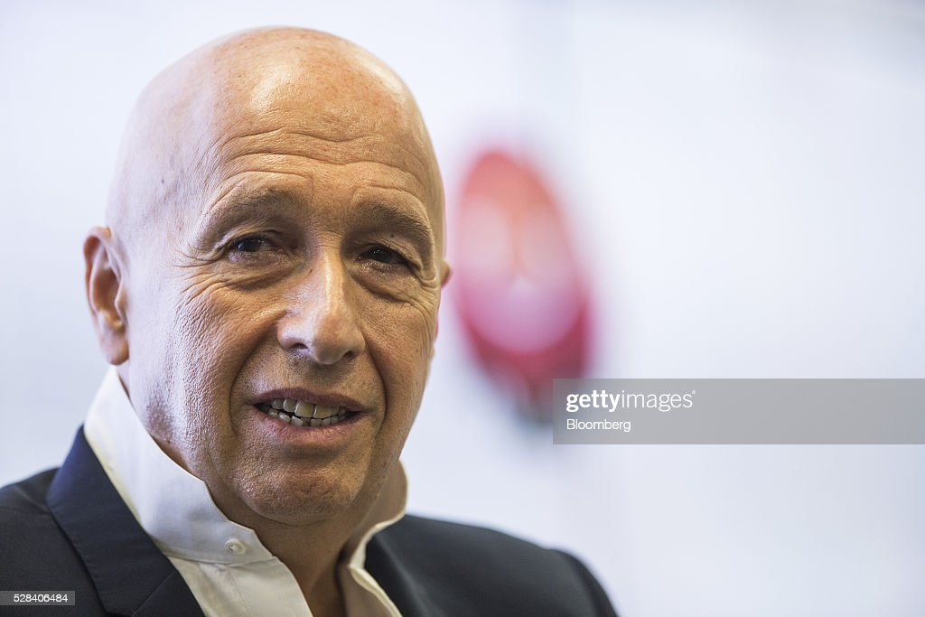 Allan Zeman, chairman of Lan Kwai Fong Holdings Ltd., speaks during a news conference in Hong Kong, China, on Thursday, May 5, 2016. Alibaba Group Holding Ltd.'s HK$1 billion fund for Hong Kong entrepreneurs is investing in GoGoVan, a hauling and delivery service that's one of the city's biggest startups, and other online services. Photographer: Justin Chin/Bloomberg via Getty Images