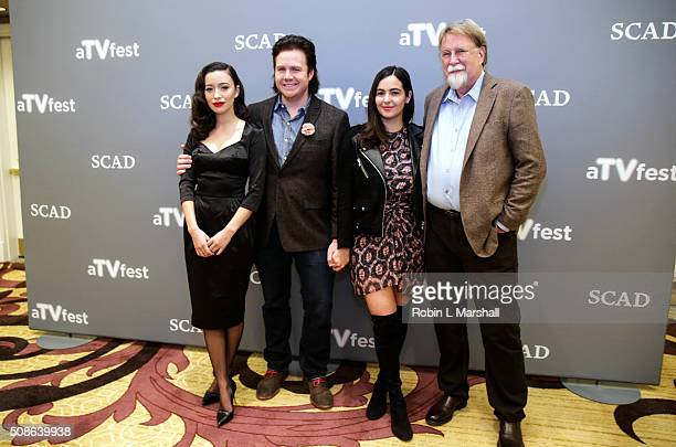 Allana Masterson Josh McDermitt Christian Serratos and Tom Luse attend 4th Annual aTVfest on February 5 2016 in Atlanta Georgia