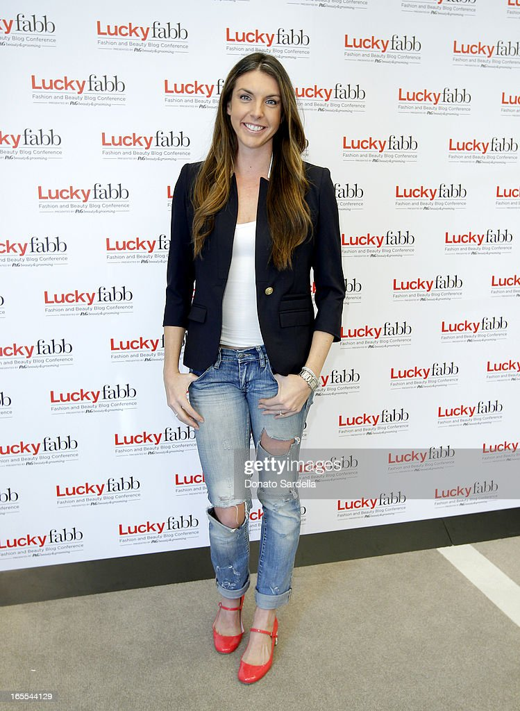 Alle Fister attends the first-ever Lucky Magazine two day FABB West at SLS Hotel on April 4, 2013 in Beverly Hills, California.