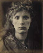 Allegorical portrait by Julia Margaret Cameron Cameron's photographic portraits are considered among the finest in the early history of photography...