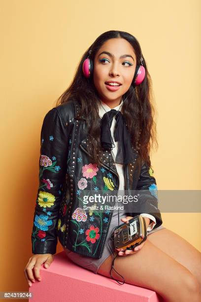 Allegra Acosta of Hulu's 'Marvel's Runaways' poses for a portrait during the 2017 Summer Television Critics Association Press Tour at The Beverly...