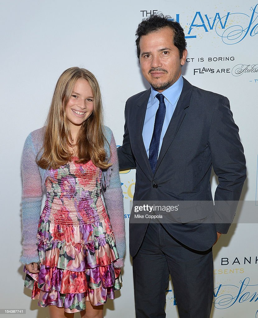 Allegra Leguizamo and father/actor John Leguizamo attend The Flawsome Ball For The Tyra Banks TZONE at Capitale on October 18, 2012 in New York City.