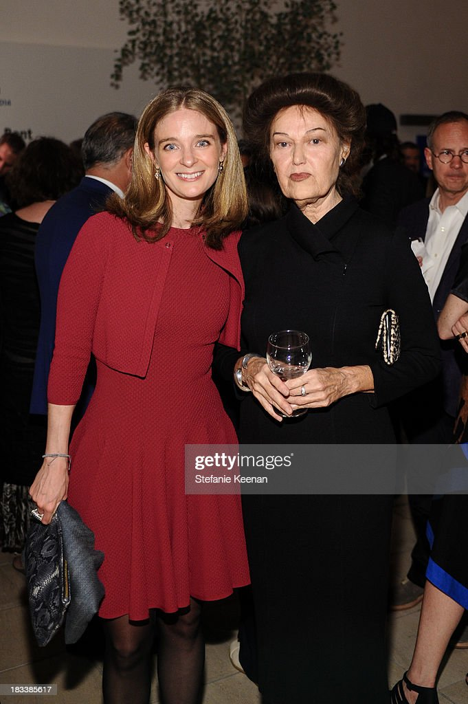 Allegra Pesenti and Mary Kelly attend Hammer Museum 11th Annual Gala In The Garden With Generous Support From Bottega Veneta, October 5, 2013, Los Angeles, CA at Hammer Museum on October 5, 2013 in Westwood, California.
