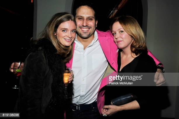 Allegra Pesenti Farhad FarmanFarmaian Marin Hopper attend NICOLAS BERGGRUEN's 2010 Annual Party at the Chateau Marmont on March 3 2010 in West...