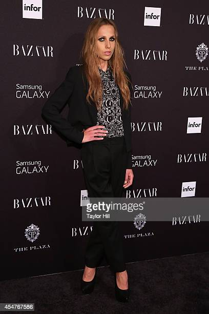 Allegra Versace attends the Harper's Bazaar ICONS Celebration at The Plaza Hotel on September 5 2014 in New York City