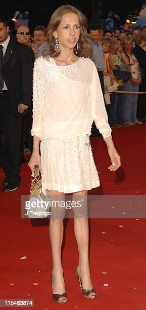 Allegra Versace Beck during The 13th Annual Life Ball at Vienna City Hall in Vienna Austria
