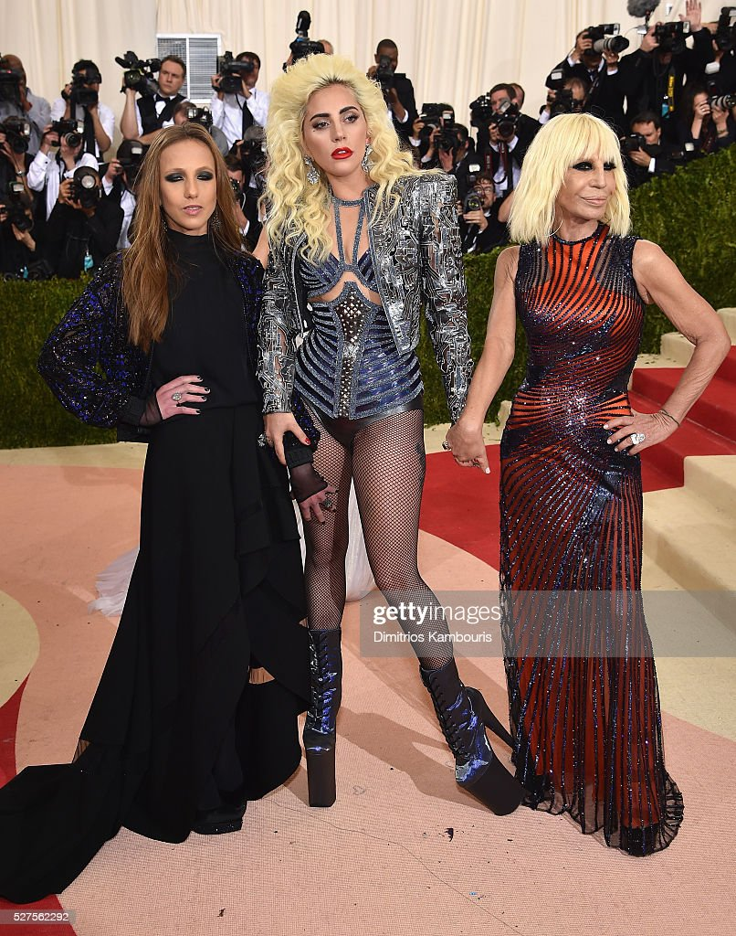 Donatella Lady Gaga Nicki Minaj