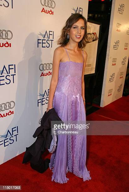 Allegra Versace during The Weinstein Company Hosts Black Tie Opening Night Gala and US Premiere of Emilio Estevez's 'Bobby' at Grauman's Chinese...