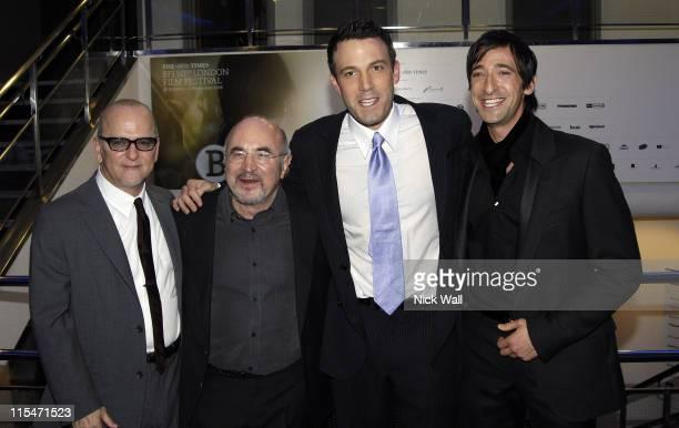 Allen Coultier Bob Hoskins Ben Affleck and Adrien Brody