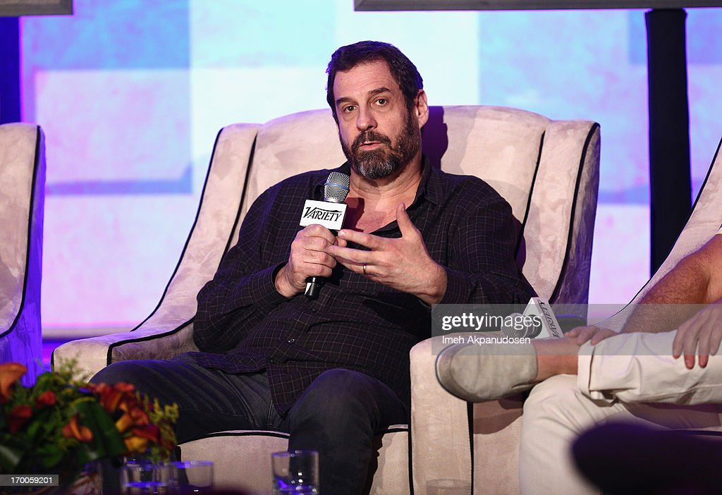 Allen DeBevoise, CEO Machinima speaks at the 'Branded Entertainment All-Stars' panel during Variety Presents