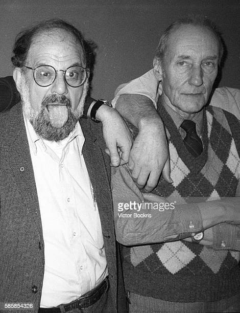 Allen Ginsberg and William S Burroughs