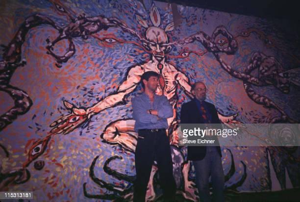 Allen Ginsberg during Allen Ginsberg 1993 in New York City New York United States