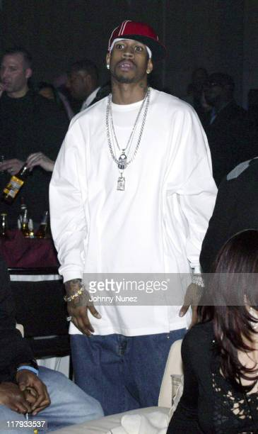 Allen Iverson during NBPA AllStar Ice Gala February 19 2005 at Denver Convention Center in Denver Colorado United States