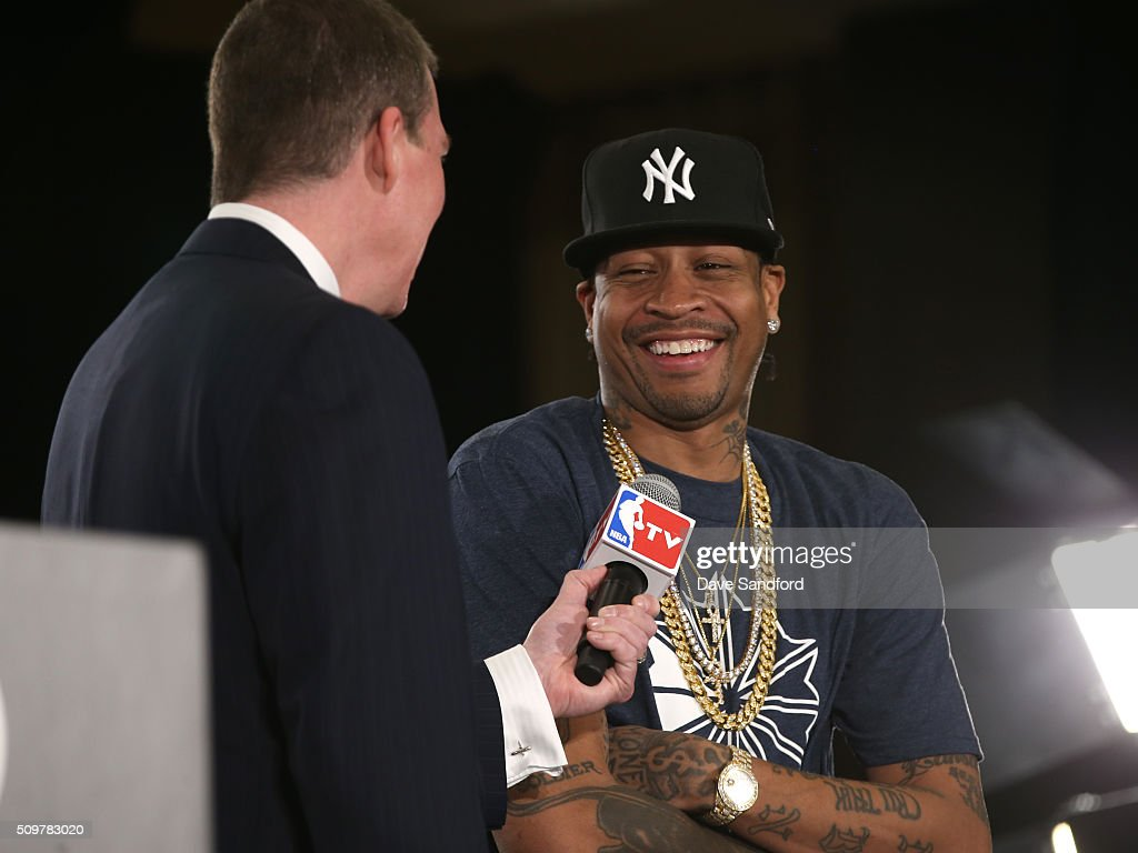 <a gi-track='captionPersonalityLinkClicked' href=/galleries/search?phrase=Allen+Iverson&family=editorial&specificpeople=201479 ng-click='$event.stopPropagation()'>Allen Iverson</a> is announced as a finalist for the Naismith Memorial Basketball Hall of Fame class of 2016 during the 2016 NBA All-Star Weekend at the Sheraton Centre Toronto Hotel on February 12, 2016 in Toronto, Ontario, Canada.