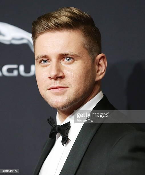 Allen Leech arrives at the BAFTA Los Angeles Jaguar Britannia Awards held at The Beverly Hilton Hotel on October 30 2014 in Beverly Hills California