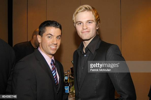 Allen Locher and Van Hansis attend 17th Annual GLAAD Media Awards at Marriot Marquis on March 27 2006 in New York City