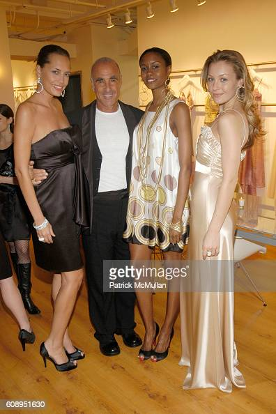 Allen Schwartz and Models attend CAROLEE Hosts Cocktail Reception to Celebrate ABS Jewelry Collection at 525 7th Avenue on November 6 2007
