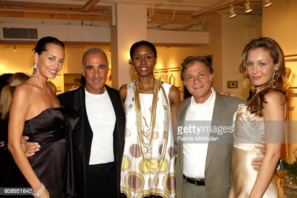 Allen Schwartz Armand Marciano and Models attend CAROLEE Hosts Cocktail Reception to Celebrate ABS Jewelry Collection at 525 7th Avenue on November 6...