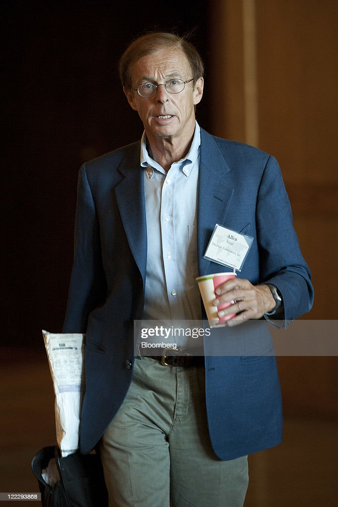 <a gi-track='captionPersonalityLinkClicked' href=/galleries/search?phrase=Allen+Sinai&family=editorial&specificpeople=228512 ng-click='$event.stopPropagation()'>Allen Sinai</a>, chief global economist for Decision Economics Inc., arrives for a session during an economic symoposium sponsored by the Kansas City Federal Reserve Bank in Moran, Wyoming, U.S., on Saturday, Aug. 27, 2011. Federal Reserve Chairman Ben S. Bernanke said at the symposium yesterday that the central bank still has tools to stimulate the economy without providing details or signaling when or whether policy makers might deploy them. Photographer: Daniel Acker/Bloomberg via Getty Images