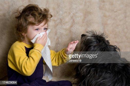 Allergy Child : Stock Photo