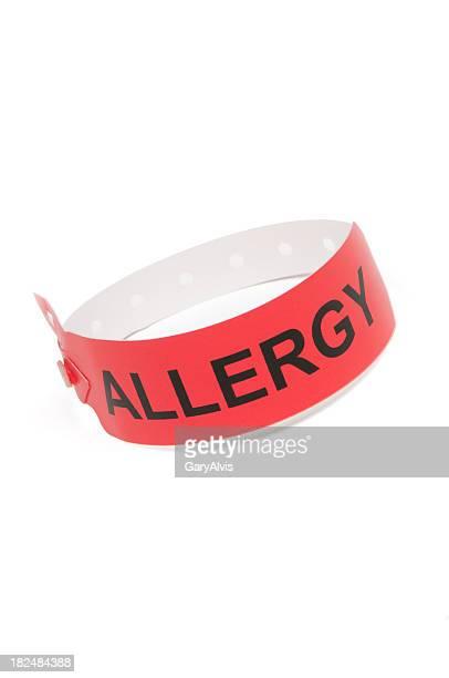Allergy wrist bracelet