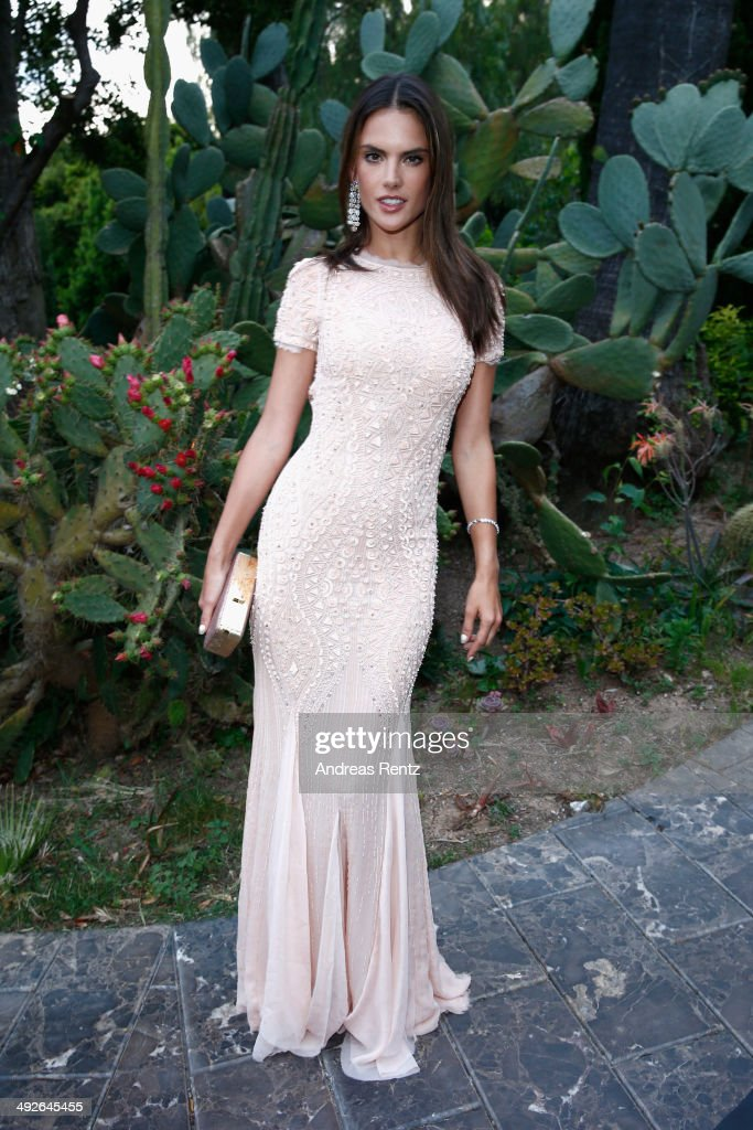 Allesandra Amrosio attends the Puerto Azul Experience at the 67th Annual Cannes Film Festival on May 21, 2014 in Cannes, France.