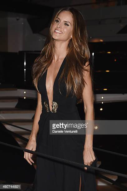Allesandra Amrosio attends the Roberto Cavalli yacht party at the 67th Annual Cannes Film Festival on May 21 2014 in Cannes France
