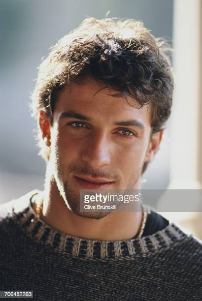 Allessandro del Piero of Italy and Juventus Football Club poses for a portrait for soft drinks manufacturer PepsiCola on 23 December 1999 in Seville...