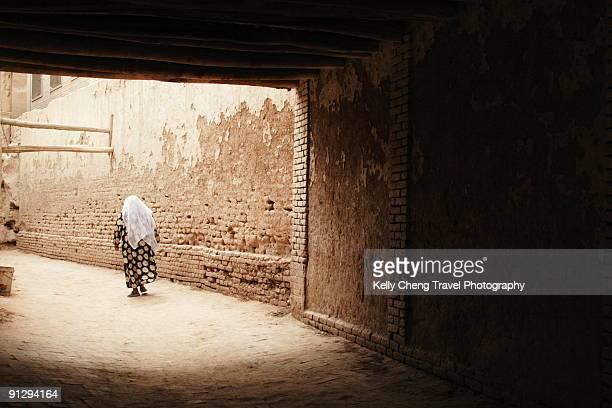 Alley in Old Kashgar