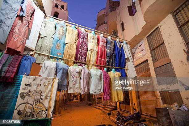 alley shopping, Luxor, Egypt