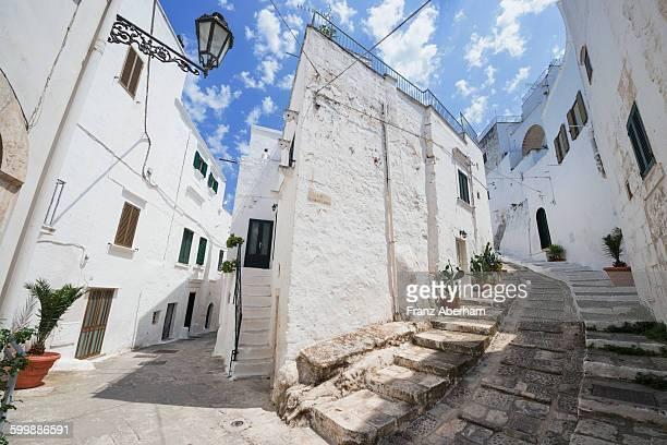 Alleyways in Ostuni, Puglia