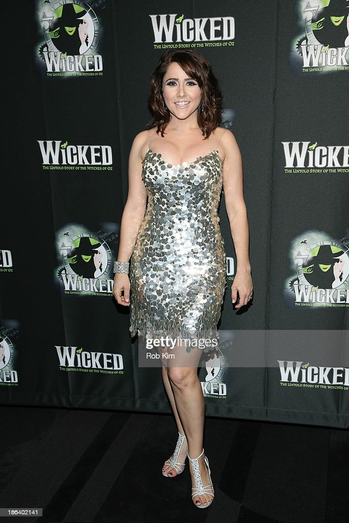 Alli Mauzey attends the after party for the 'Wicked' 10th anniversary on Broadway at The Edison Ballroom on October 30, 2013 in New York City.
