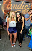 Alli Simpson and Acacia Brinley attend Candie's Presents The Official PreParty For Teen Choice 2014 A DigiTour Production at The Gibson Showroom on...