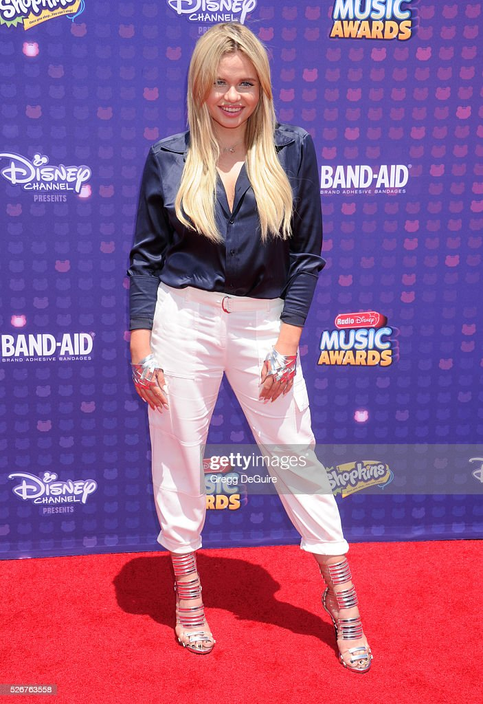 Alli Simpson arrives at the 2016 Radio Disney Music Awards at Microsoft Theater on April 30, 2016 in Los Angeles, California.