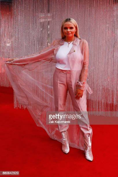 Alli Simpson arrives for the 31st Annual ARIA Awards 2017 at The Star on November 28 2017 in Sydney Australia