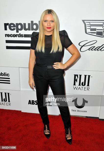 Alli Simpson attends the VMA after party hosted by Republic Records and Cadillac at TAO restaurant at the Dream Hotel on August 27 2017 in Los...