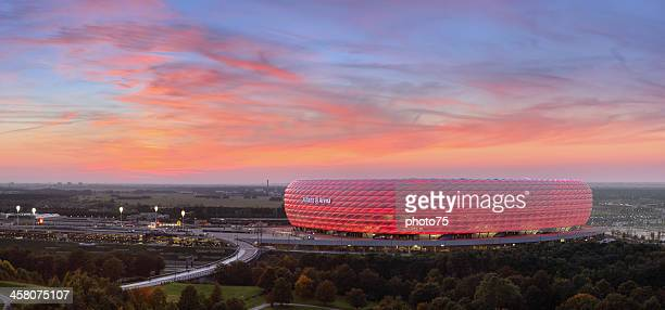 Allianz Arena at Sunset