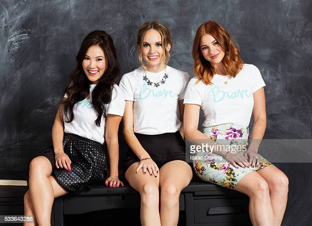 Allie Gonino Meaghan Martin and Ally Maki