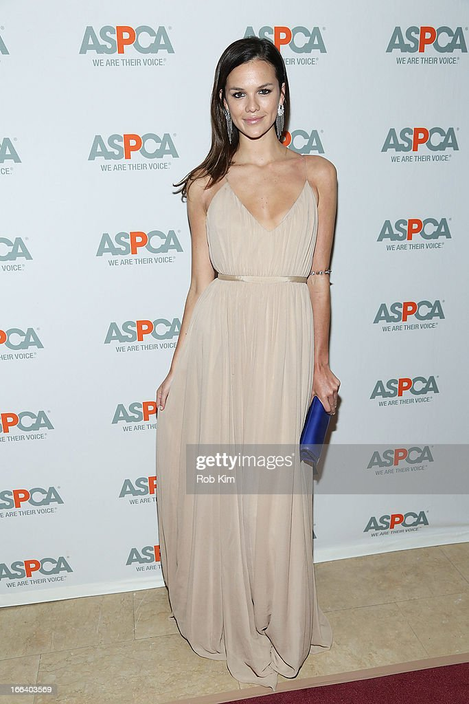 Allie Rizzo attends the 16th Annual ASPCA Bergh Ball at The Plaza Hotel - 5th Avenue on April 11, 2013 in New York City.