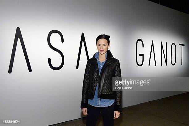 Allie Rizzo attends the Asaf Ganot fashion show during MercedesBenz Fashion Week Fall 2015 on February 13 2015 in New York City