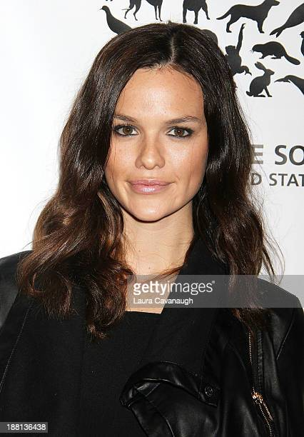 Allie Rizzo attends The Humane Society Of The United States' To the Rescue 2013 Gala at Cipriani 42nd Street on November 15 2013 in New York City