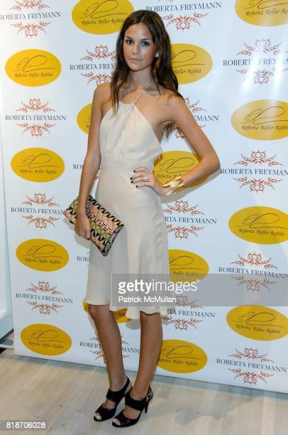Allie Rizzo attends Tinsley Mortimer Hosts the Roberta Freymann East Hampton Boutique Grand Opening at Roberta Freymann Boutique on June 26 2010