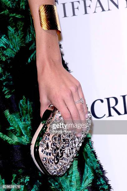 Allie Rizzo purse detail at ACRIA Holiday Dinner Honoring The Robert Mapplethorpe Foundation Judith Light and Casey Fremont at The 69th Regiment...