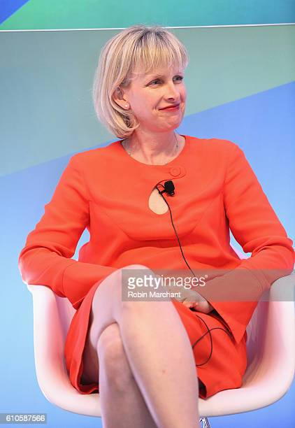 Alliei Kline speaks onstage at Breaking the Mold at Thomson Reuters during 2016 Advertising Week New York on September 26 2016 in New York City