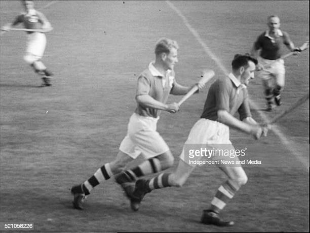 AllIreland Hurling Fina 1952l Cork and Dublin with Cork taking the title by 214 to 07
