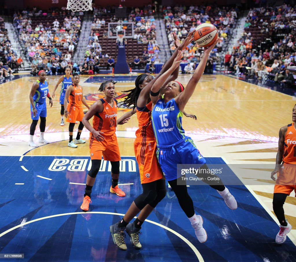 Connecticut Sun Vs Dallas Wings