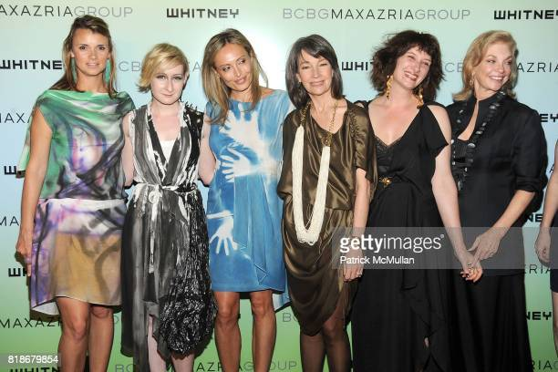 Allison Aston Sarah Brown Lubov Azria Brooke Neidich Ellen Harvey and Joanne Leonhardt Cassullo attend 2010 WHITNEY ART PARTY Presented by...